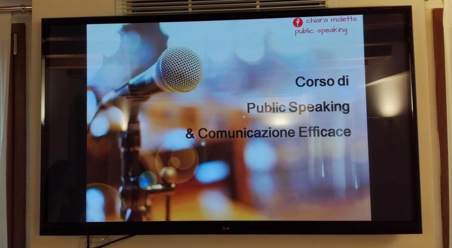 public speaking e personal branding